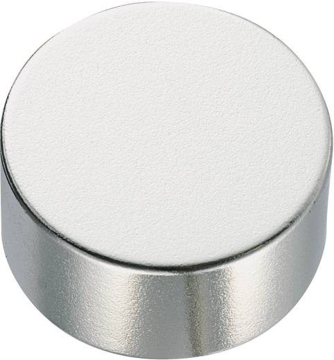 Kerek mágnes NdFeB (hengeres forma) 1,18-1,24 T, Ø 10 x 2 mm, anyag: N35M