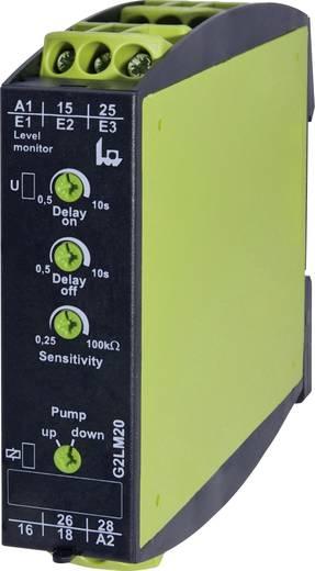 Feltöltési szintfigyelő relé, TELE G2LM20 230 V/AC