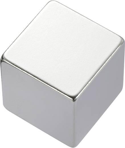 Téglalap mágnes NdFeB, 1,33-1,37 T, 20 x 20 x 10 mm, anyag: N45