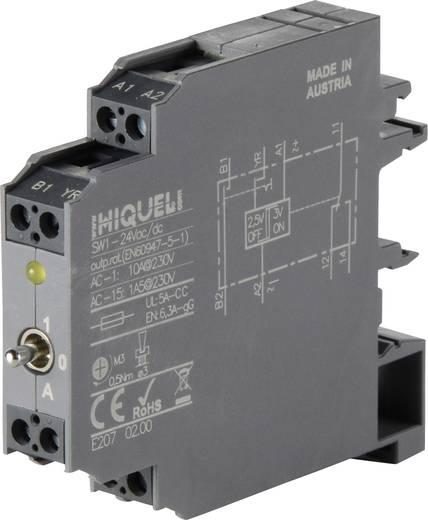 Határérték kapcsoló 24 V DC/AC 1 váltó, 10 A 250 V/AC, Hiquel SW1