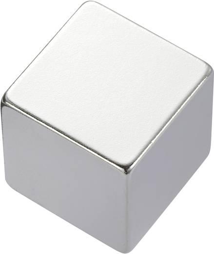 Téglalap mágnes NdFeB, 1,18-1,24 T, 20 x 20 x 5 mm, anyag: N35M