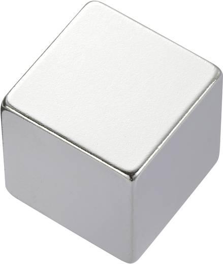 Téglalap mágnes NdFeB, 1,18-1,2 T, 20 x 20 x 10 mm, anyag: N35EH