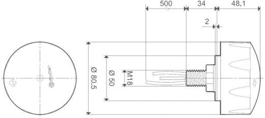 Finder alkonykapcsoló, 230V/AC, 10 lux, 10.61.8.230.0000