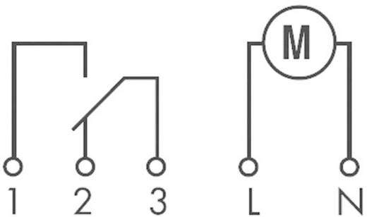 Mechanikus időkapcsolóóra előlapi szereléshez 230 V/50-60 Hz, 1 váltó 16 A 250 V/AC 4000 VA, Finder 12.31.8.230.0000