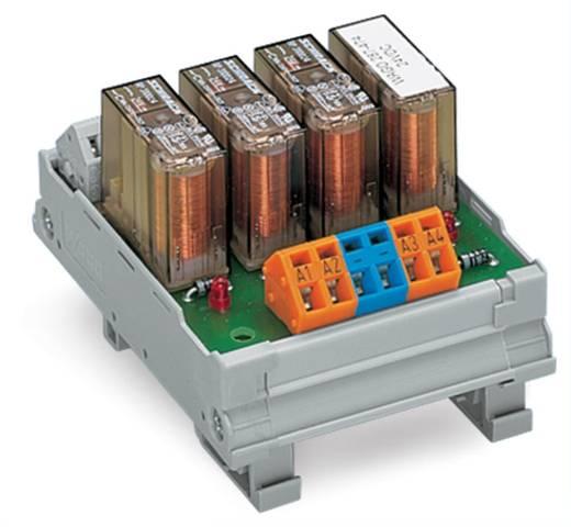 Relé modul 4 relével, 1-1 záró, 250 V, WAGO 287-475