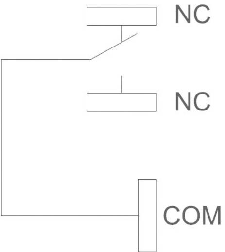 Teljesítmény relé, nyákos, 12 V/DC 1 váltó, 30 A 110 VDC/300 VAC, NT90THCE12CB