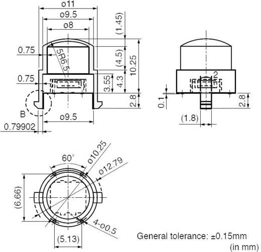 Lencse PIR érzékelőkhöz, IRS Murata IML-0650G