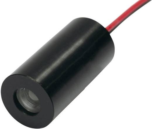 Lézerdiódamodul, kicsi, 1mW, piros, 2. osztály, IMM-1020- 650-1-E-K