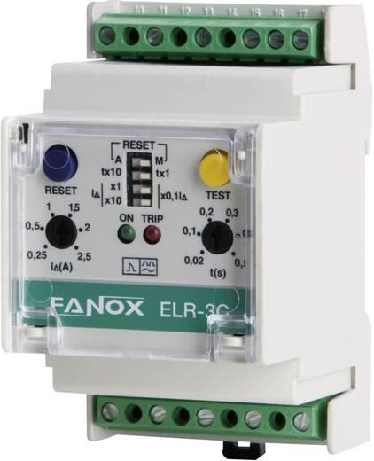 Differenciáláram relé, DIN sínre szerelhető, Fanox ELR-3C