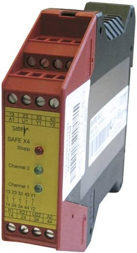 Biztonsági modul biztonsági reléhez 24 V/DC, Riese SAFE X4