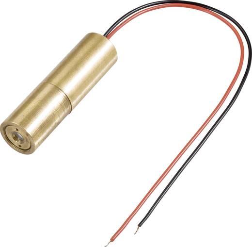 Pontlézer modul 5 mW, Lézerosztály 3R, zöld, LM05GND