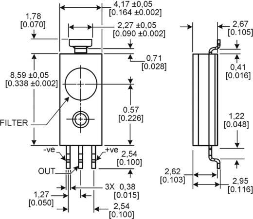 SMD páratartalom érzékelő szenzor (nem kondenzálódó), 0 - 100 %, -40...+85 °C, Honeywell HIH-5031-001