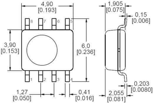 SMD digitális páratartalom érzékelő szenzor (kompenzált), 10 - 90 %, 5 - 50 °C, Honeywell HIH-6131-021-001