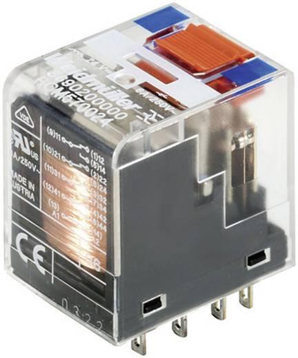 RCI/RCM tartalék relé 24 V/DC 4 váltó 6 A 250 V/AC 1500 VA, Weidmüller RCM570024