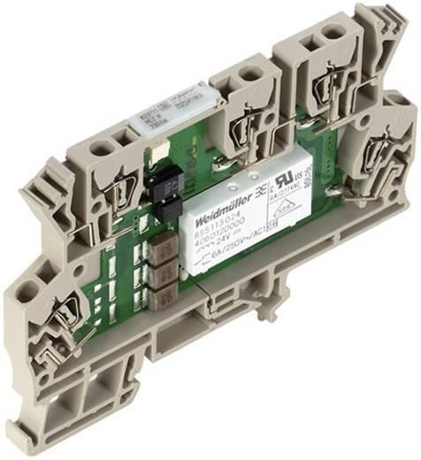 MCZ R relé csatoló 1 váltó 6 A, Weidmüller MCZ R 120VAC