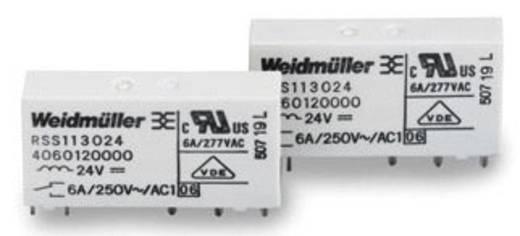 MRS/MRZ tartalék relé 5 V/DC 1 váltó 6 A 250 V/AC, Weidmüller RSS113005 05Vdc-Rel1U