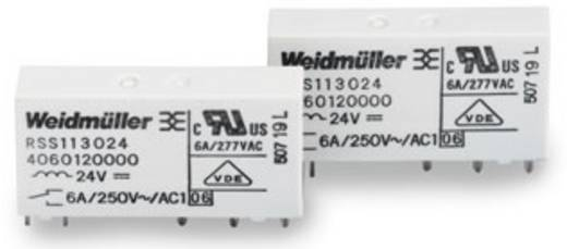 MRS/MRZ tartalék relé 12 V/DC 1 váltó 6 A 250 V/AC, Weidmüller RSS113012 12Vdc-Rel1U