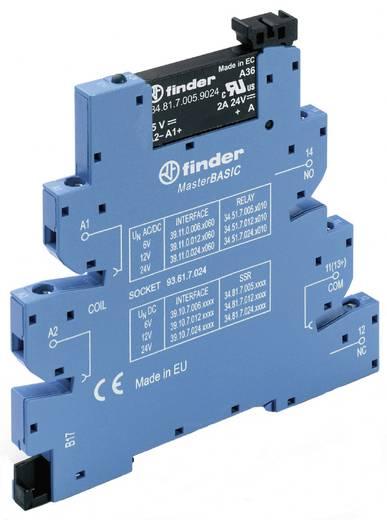 MasterBASIC csatoló relé, optocsatoló kimenettel 1 záró 2 A, Finder 39.10.7.012.9024