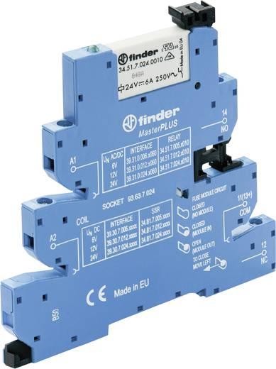 MasterPLUS csatoló relé, EMR relé kimenettel 1 váltó 6 A, Finder 39.31.0.024.0060