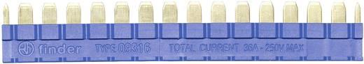 Fésűs áthidaló 39-es sorozatú csatoló relékhez, kék, Finder 093.16
