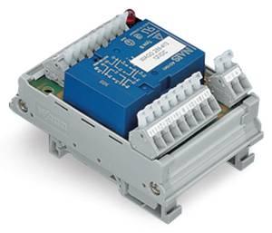 Relé modul 4 nyitó/4 záró 250 V, WAGO 288-413 WAGO