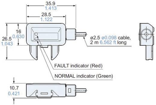Vízszivárgás érzékelő, Panasonic EXF72PN
