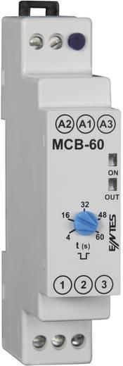 Időrelé 24 V/AC/DC/ 230 V/AC 1 váltó 8 A, ENTES MCB-60