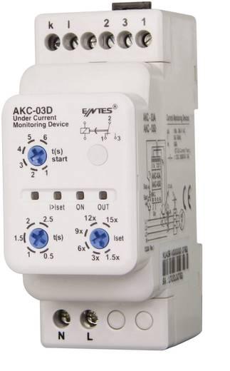 Áramfigyelő relé áramváltóval, ENTES AKC-03D