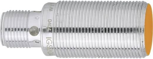 Induktív közelítés érzékelő M18 x 1, kapcsolási távolság: 8 mm, ifm Electronic IGS206