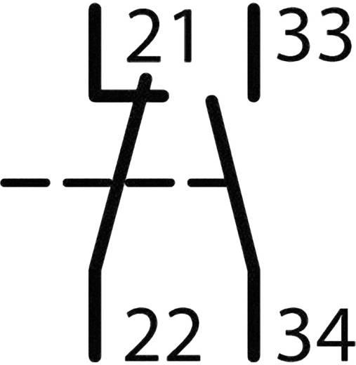 Segédkapcsoló 1 záró/1 nyitó, Eaton DILM32-XHI11