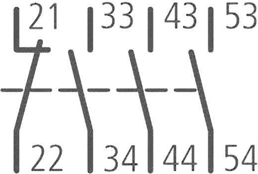 Segédkapcsoló 2 záró/2 nyitó, Eaton DILM32-XHI22