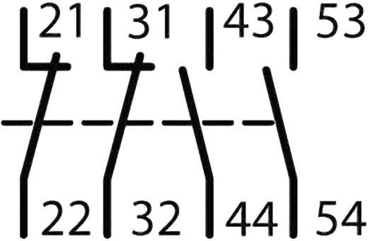 Segédkapcsoló 3 záró/1 nyitó, Eaton DILM32-XHI31