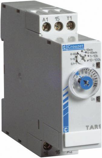 Elektronikus időzítő relé 24 V/DC 24 - 240 V/AC, kimenet: 8 A DC/AC 250 V DC/AC 2000 VA/ 80 W, Chronos 2 Crouzet TK2R1