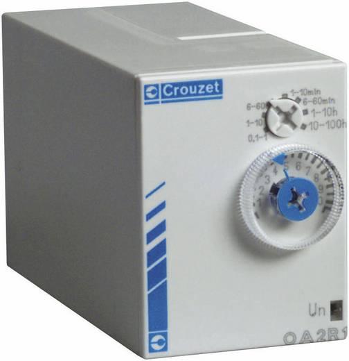 Elektronikus időrelé 24 V/DC 24 - 240 V/AC, kimenet: 8 A DC/AC 250 V DC/AC 2000 VA/ 80 W, Chronos 2 Crouzet PA2R1