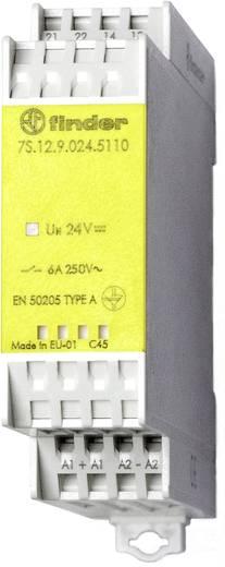 Relé modul kényszervezetésű érintkezőkkel 1 záró/1 nyitó 6 A, Finder 7S.12.9.024.5110
