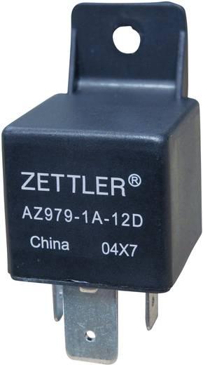 Autós relé, 24 VDC, 80 A/30 VDC, 1120 W, MINI ISO, Zettler Electronics AZ979-1A-24D