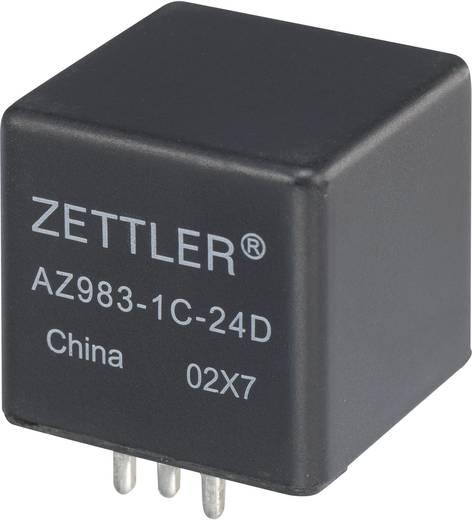 Autós relé, 24 VDC, 60 A/75 VDC, 1120 W, MINI ISO, Zettler Electronics AZ983-1C-24D