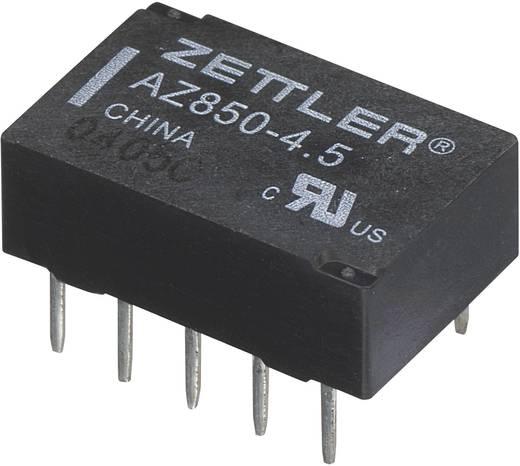 Polarizált miniatűr relé 5 V/DC 2 váltó, 1 A 30 V/DC/125 V/AC, Zettler Electronics AZ850P2-5