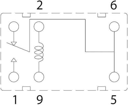 Szubminiatűr nyák relé 3 V/DC 1 váltó, 1 A, 60 V/DC/125 V/AC, Zettler Electronics AZ9571-1C-3DE