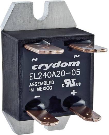 Elektronikus teljesítmény relé 20 A 24-280 V/AC, Crydom EL240A20-05