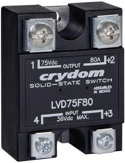 LVD kisfeszültségű szilárdtest relé 100 A 3-75 V/DC, Crydom LVD75B100