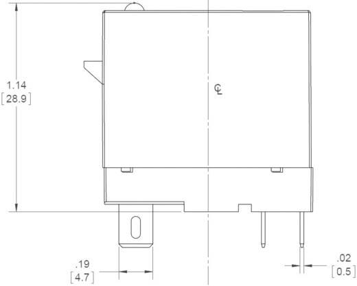 Dugaszolható félvezető relék 3 A 24-280 V/AC, Crydom ED24C3