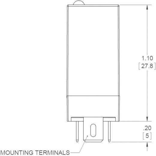 Dugaszolható félvezető relék 3 A 24-280 V/AC, Crydom ED24C3R