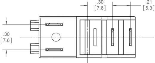 Dugaszolható félvezető relék 3 A 24-280 V/AC, Crydom ED24D3R
