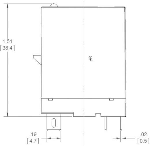 Dugaszolható félvezető relék 5 A 24-280 V/AC, Crydom ED24C5