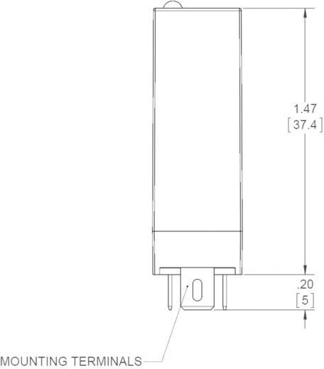 Dugaszolható félvezető relék 5 A 1-80 V/DC, Crydom ED10D5