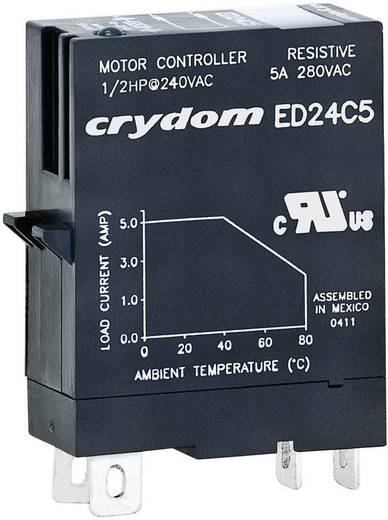Dugaszolható félvezető relék 5 A 1-80 V/DC, Crydom ED10C5