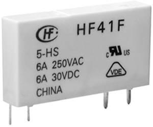 Hálózati relé 24 V/DC 1 váltó, 6 A 30 V/DC/ 277 V/AC 1500 VA/ 180 W, Hongfa HF41F/024-ZST Hongfa