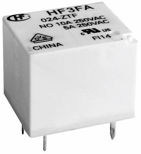 Kocka relé 24 V/DC 1 váltó, 10 A, 30 V/DC/ 277 V/AC, 2770 VA/ 300 W, Hongfa HF3FA/024-ZTF