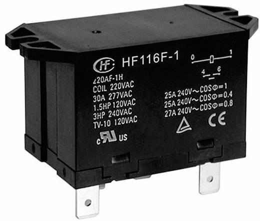 Teljesítmény relé 12 V/DC 2 záró, 25 A 277 V/AC 6925 VA, Hongfa HF116F-1/012DA-2HTW